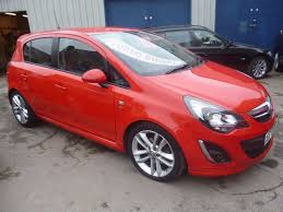 vauxhall corsa inside vauxhall corsa sri cdti 5 door hatchback fsh full mot sports