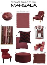 marsala color fits everywhere u2013 interior design giants