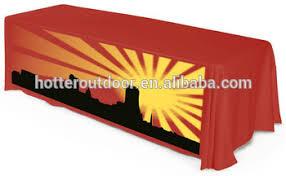 6ft Imprinted Table Cover Custom Custom Printed Table Cover Trade Show Table Cover Full Color 6