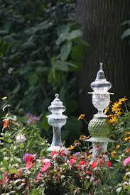 Glass Garden Decor 11 Best Second Glass Garden Art And More Images On Pinterest