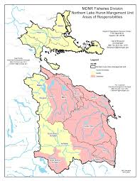 Map Of Northern Michigan by Dnr Northern Lake Huron Management Unit