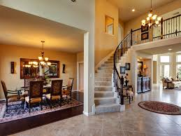 european style house living room living room with stairs and of european style house
