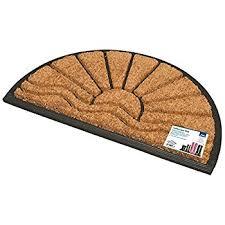 Coir And Rubber Doormat Jvl Heavy Duty Nimbus Rubber Natural Coir Tuffscrape Door Mat 40