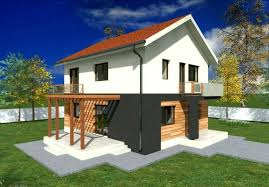 modern two story house plans small 2 story house small 2 storey house with small two story house