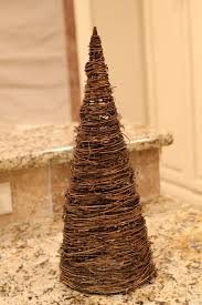 grapevine trees burlap and drop cloth and ticking oh my shanty 2 chic