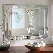 unique square decorative mirror for bathroom with stone frame and