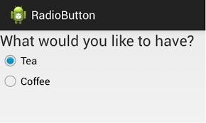 android radio button android radio button exle techlovejump android tutorials