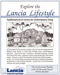 Lancia Homes Floor Plans Past Hba Parade Years Lancia Homes