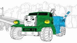 thomas and friends new coloring pages learn the colors for