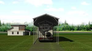 12x41 metal rv shelter