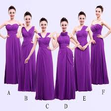 violet bridesmaid dresses best 25 purple bridesmaid dresses ideas on