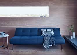 Sofa Bed Pocket Sprung Mattress by Buri Sofa Bed Dessin Blue