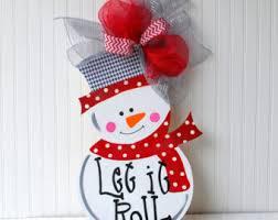 snowman door decorations snowman door decoration snowman wreath snowman door hanger roll
