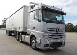 mercedes prime mover mercedes actros arrives in australia logistics trucking
