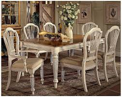 amazon com hillsdale wilshire 7 piece rectangular dining table