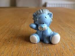 blue nose friends figurine ornament rocky no 9 me to you