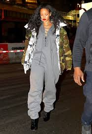 rihanna jumpsuit rihanna and keke wore it the reversible vetements