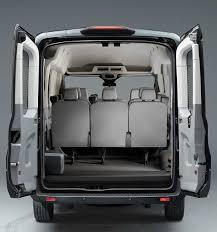 Ford Van Interior 2018 Ford Transit Passenger Wagon Photos Videos Colors U0026 360