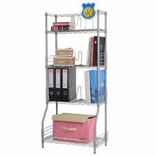 aliexpress com buy langria 4 tier classic metal wire bookshelf