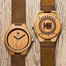 wooden groomsmen gifts wooden watches unique groomsmen gifts swankybadger