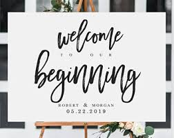 wedding welcome sign template printable wedding welcome sign template wedding welcome