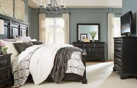 Vintage Black Bedroom Furniture Passages Vintage Black Panel Bedroom Set From Standard Furniture