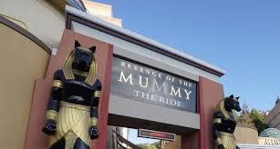 halloween horror nights rides revenge of the mummy the ride reopens after refurbishment