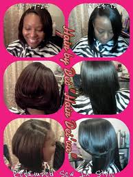 a line feathered bob hairstyles feathered sew in bob cut hairstyle youtube