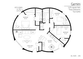 23 monolithic dome homes floor plans floor plan dl 4701