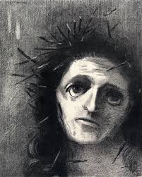 Image Of Christ by Arthistory Us Tears Veils Thickets Odilon Redon U0027s