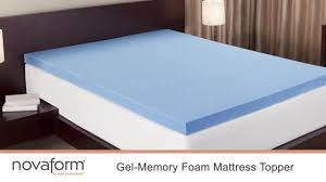 Best Gel Foam Mattress Topper Novaform 3
