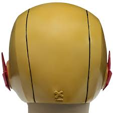 the reverse flash mask cosplay streak pvc helmet halloween