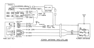 auto antenna wiring diagram on images free download inside tv