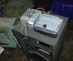 computer power supply into car audio