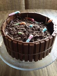 birthday of dirt cake great for a fisher than