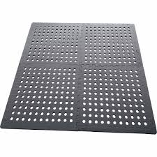 wanderer 4pk grey foam mats with holes bcf australia
