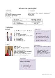 Worksheets For 6th Grade Reading 221 Free Esl Greetings Worksheets