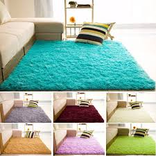Livingroom Yoga 80x200cm Large Fluffy Living Room Anti Slip Carpet Floor Mats Yoga