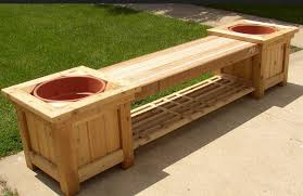 Wooden Bench Design Backyard Bench Designs Home Outdoor Decoration