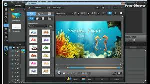 powerdirector slideshow templates cyberlink powerdirector 9 templates