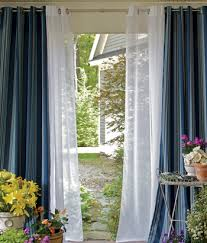 Window Curtain Double Rods Grommet Curtains Home Interior Design And Decorating Page 3