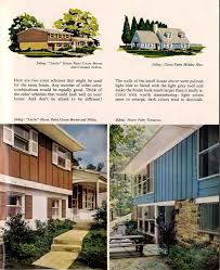 exterior colors for 1960 houses retro renovation