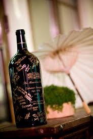 wine bottle guestbook wedding ideas what to do instead of a boring guest book inside