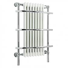 Small Heated Towel Rails For Bathrooms Ibathuk 8 Column Traditional Designer Heated Towel Rail Bathroom