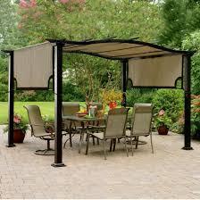 Patio Furniture Gazebo by Metal Outdoor Gazebo Outdoor Gazebo Design With Comfortable