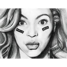 drawn pencil beyonce pencil and in color drawn pencil beyonce