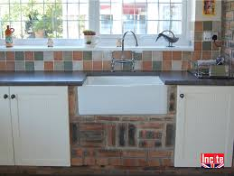 painted fitted kitchen with tongue and groove door detail