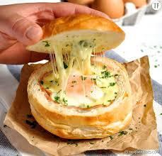 cuisiner facile bol de au jambon oeuf et fromage la recette facile et rapide