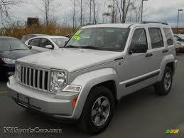 silver jeep liberty 2007 2008 jeep liberty sport 4x4 in bright silver metallic 220803