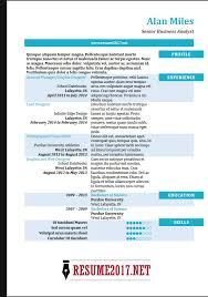 ba resume format resume format 2018 16 latest templates in word